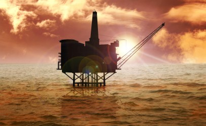 Image of offshore rig