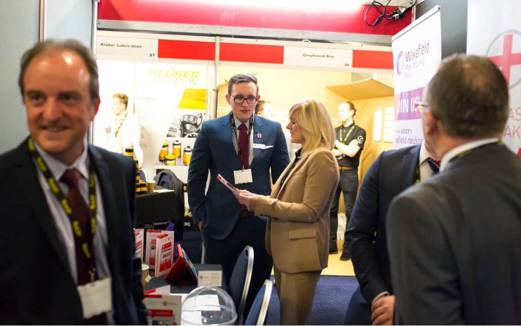 Photo of delegates at Manufacture Yorkshire 2016 event