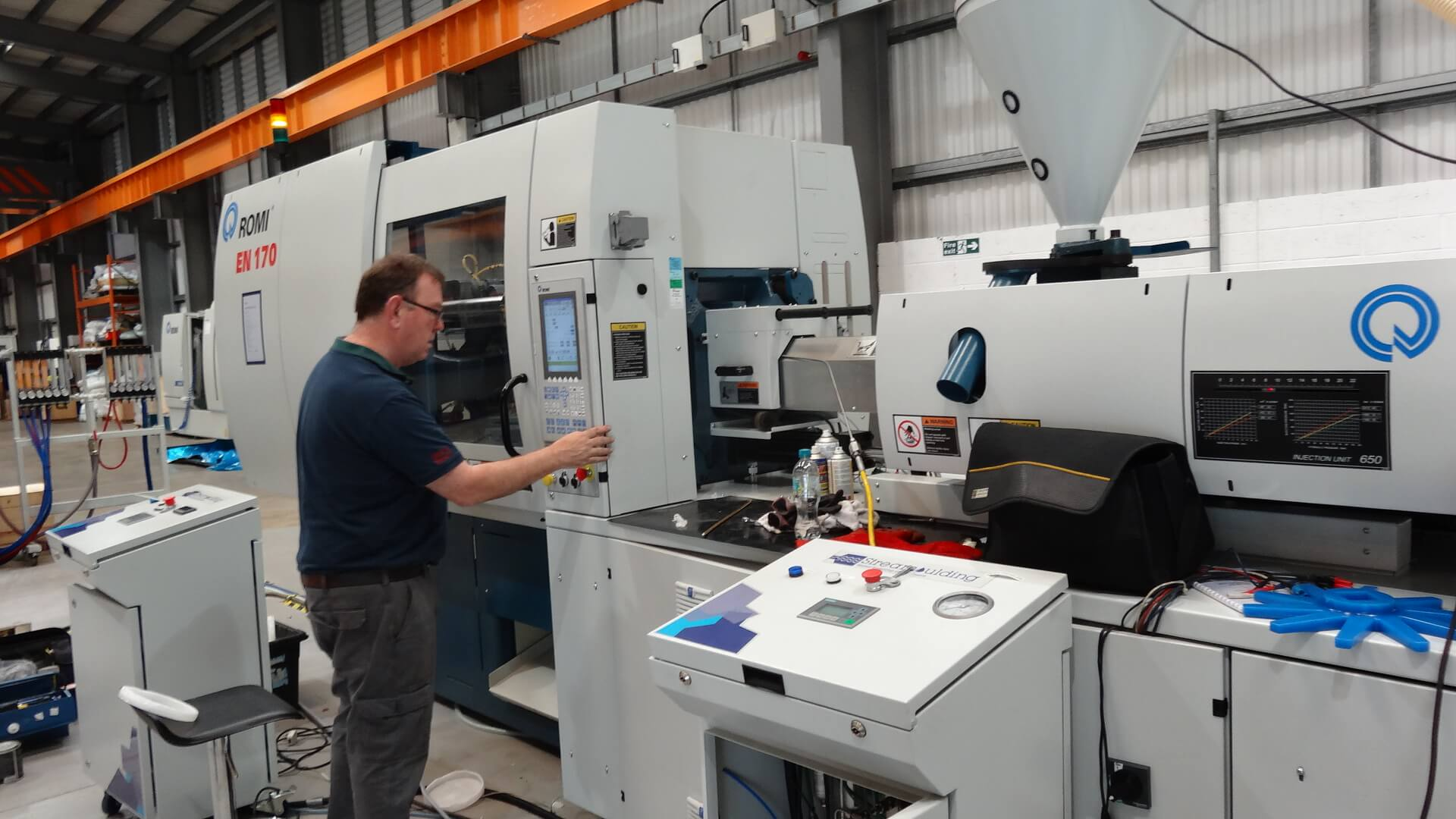 PolyGlobal starts Streamoulding trials at Romi UK