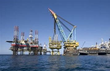 Photo of offshore rig
