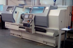 Image of Alpha factory machinery