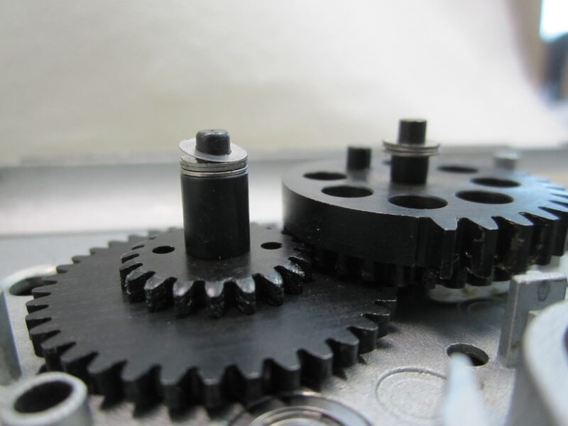 Image of machinery components made from Nylon 6