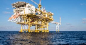 Image of offshore oil rig
