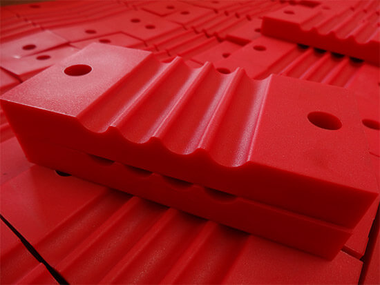Image of cast moulded product