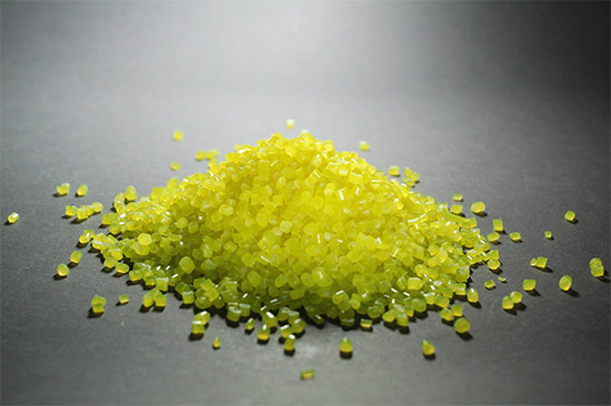 Image of raw material used for injection moulding
