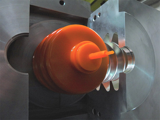 Image of the injection moulding process