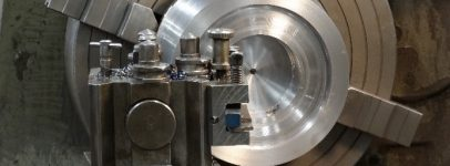 Photo of machinery used in mould design and production process