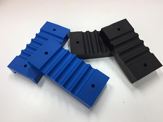 Image of a moulded marine clamping solution