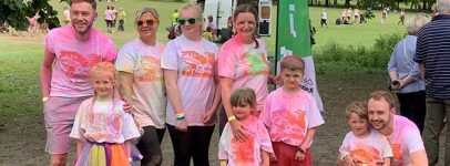Polyglobal staff at Wakefield Hospice Fundraising event