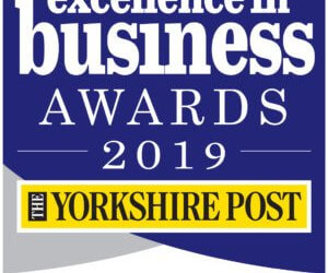 Logo for Yorkshire's finest Excellence in Business Awards 2019